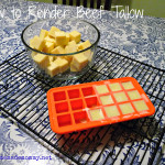Easy Method for Rendering Beef Tallow by Homemade Mommy