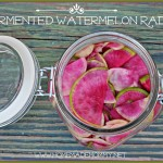 Fermented Watermelon Radish by Homemade Mommy