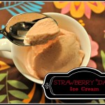 Strawberry Date Ice Cream by Homemade Mommy