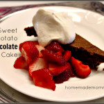 Sweet Potato Chocolate Cake by Homemade Mommy