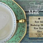 Sleepytime Milk Tea via Homemade Mommy