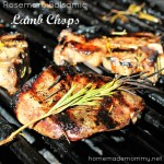 Rosemary Balsamic Lamb Chops