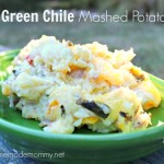 Green Chile Mashed Potatoes