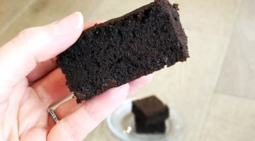 Homemade Gluten Free Double Chocolate Brownies